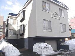 北海道札幌市豊平区美園四条6丁目の賃貸アパートの外観