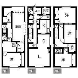 [一戸建] 北海道札幌市中央区南八条西21丁目 の賃貸【/】の間取り