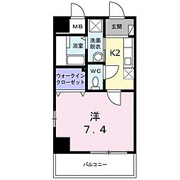 シャルマン・ベル Nakano[4階]の間取り