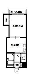 上新庄駅前グランドハイツ北[2階]の間取り