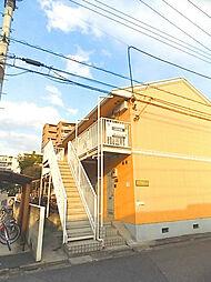 埼玉県蕨市塚越5丁目の賃貸アパートの外観