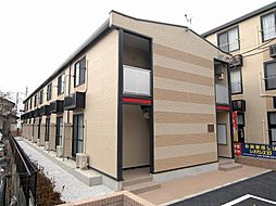 埼玉県さいたま市中央区新中里5丁目の賃貸アパートの外観