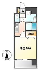 カレント茶屋ヶ坂[4階]の間取り