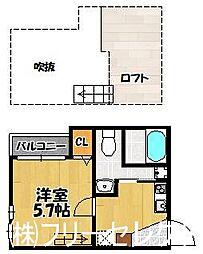 Insula博多[1階]の間取り