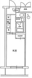 アソシエール高島平[3階]の間取り