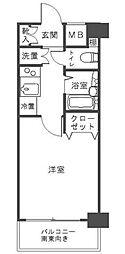 プレール・ドゥーク文京本駒込[3階]の間取り