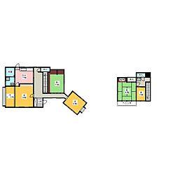 [一戸建] 茨城県水戸市新原2丁目 の賃貸【/】の間取り