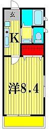 Cerebrare Iwase(セレブラーレイワセ)[2階]の間取り