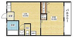 森川ビル[2階]の間取り