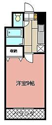 KMマンション八幡駅前II[509号室]の間取り
