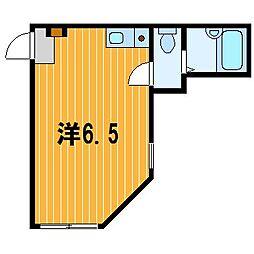 神奈川県横浜市南区永田東1の賃貸アパートの間取り