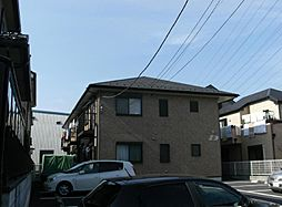埼玉県川口市新堀町の賃貸アパートの外観