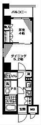 神奈川県横浜市中区弁天通2丁目の賃貸マンションの間取り