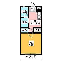 ma maison HIRAKUTA[1階]の間取り