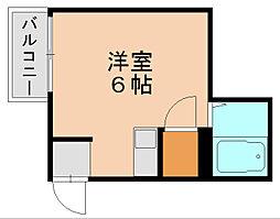 シティハウス呉服町[4階]の間取り