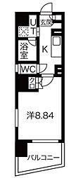 アールズタワー東山公園[7階]の間取り