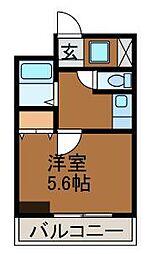 ル・カリエンテ[7階]の間取り