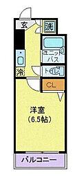 ロアール小石川植物園[602号室]の間取り