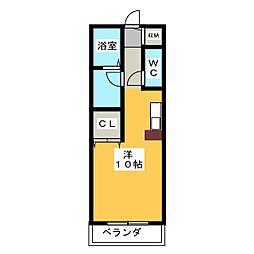 ステージ21[2階]の間取り