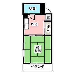 メゾン大丸[2階]の間取り
