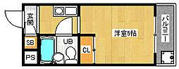 「メゾン・ド・パルファン」[3階]の間取り