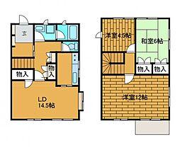 [テラスハウス] 東京都町田市能ヶ谷6丁目 の賃貸【/】の間取り