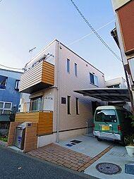 東京都小金井市緑町4丁目の賃貸アパートの外観