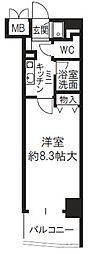 新大阪セレニテ[7階]の間取り