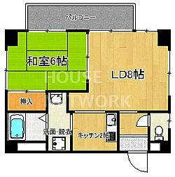COMO HOUSE[101号室号室]の間取り