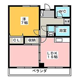 NKビル[4階]の間取り