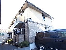 千葉県松戸市八ケ崎6丁目の賃貸アパートの外観