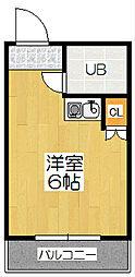 サンモール青木[1階]の間取り