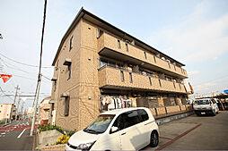 愛知県名古屋市中川区中島新町3丁目の賃貸アパートの外観