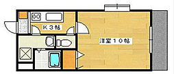 マンションらぴす[1階]の間取り