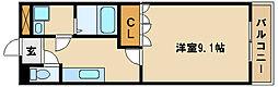 兵庫県神戸市西区白水1丁目の賃貸マンションの間取り