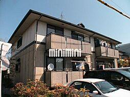 静岡県静岡市清水区八坂北1丁目の賃貸アパートの外観