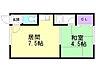 間取り,1DK,面積25m2,賃料3.5万円,バス くしろバス鳥取北3丁目下車 徒歩2分,,北海道釧路市鳥取大通3丁目