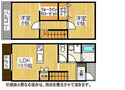 CS黒崎[2階]の間取り