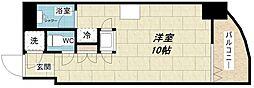 大阪府大阪市中央区久太郎町2丁目の賃貸マンションの間取り