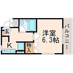 ふたばマンション[3階]の間取り