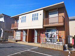 滋賀県近江八幡市鷹飼町南4丁目の賃貸アパートの外観