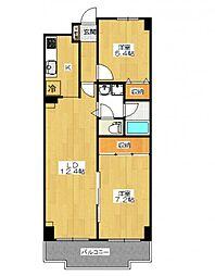 カーサシンフォニア[4階]の間取り