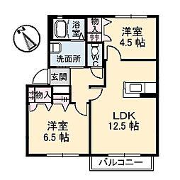 シャーメゾン・ヴィアーレ E-2[102号号室]の間取り