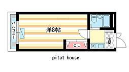 奈良県奈良市中筋町の賃貸マンションの間取り