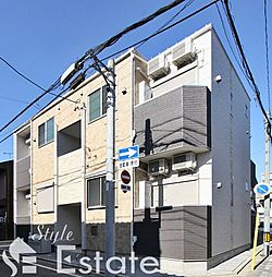 愛知県名古屋市南区桜本町2丁目の賃貸アパートの外観