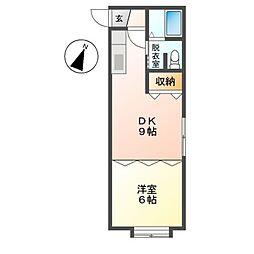 M41[2階]の間取り