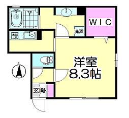 桜(SAKURA)[102号室]の間取り
