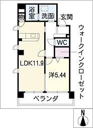 La FELMO 菊坂[6階]の間取り