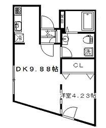 MODULOR上高井戸(モデュロール上高井戸)[3階]の間取り