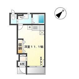Y's square95(ワイズスクエア95)[1階]の間取り